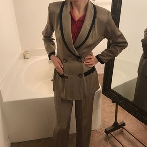 Dawn Jay Fashions Brown 2-piece suit Jacket/Pants